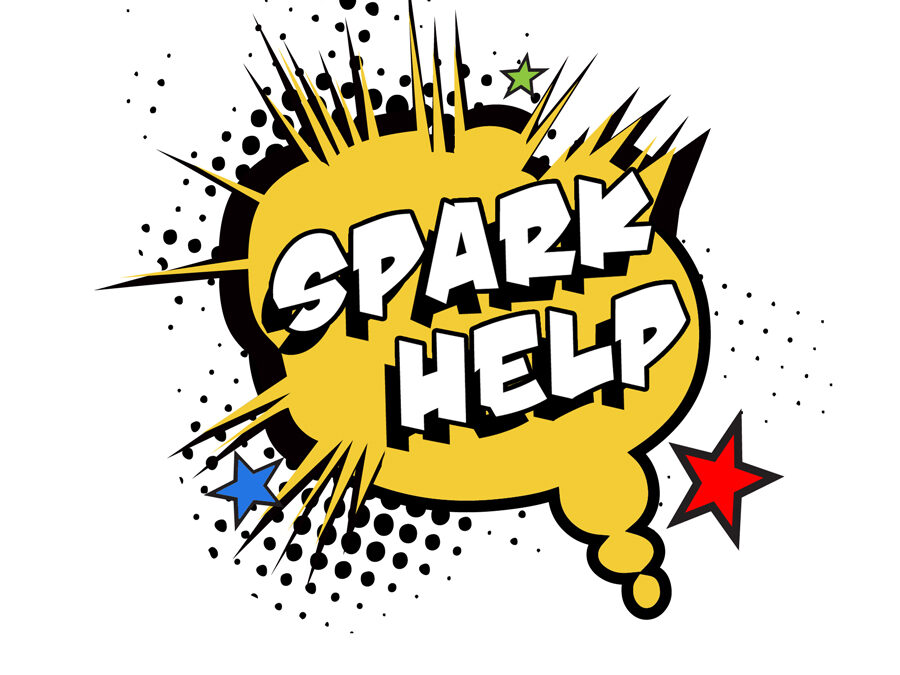 Graphic Design for SparkHelp