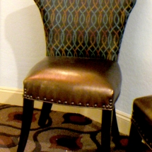 Custom accent chair. ABRIDstudio.com