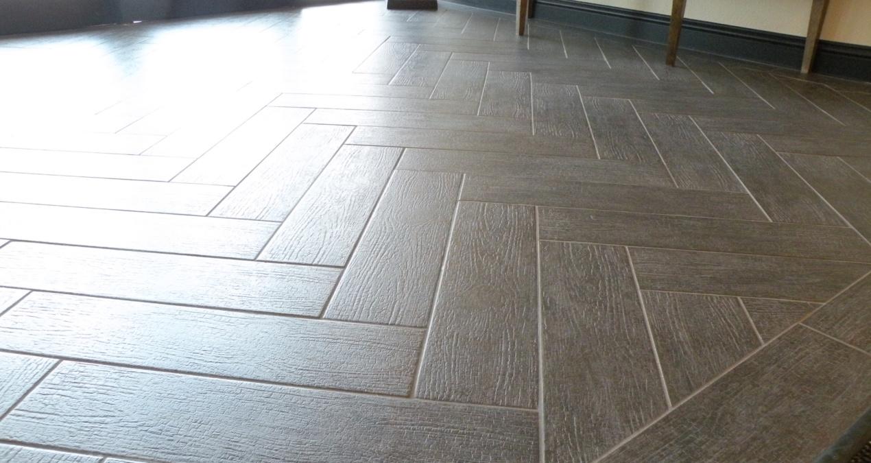 Wood Look Tile Design