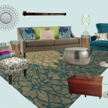 Jane's Living Room E-Design Style Board ABRIDstudio.com