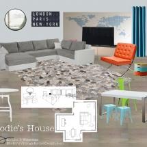 Elodie's Lounge E-Design Style Board ABRIDstudio.com