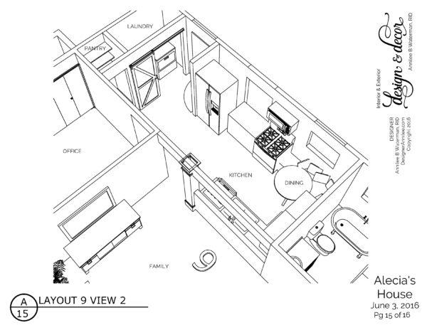 Kitchen Design, 1950's house, Wylie Texas