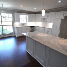 Complete selections for kitchen remodel, Dallas.