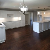 Dallas Gray White Kitchen Design