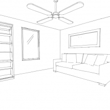 Interior Quick Sketch