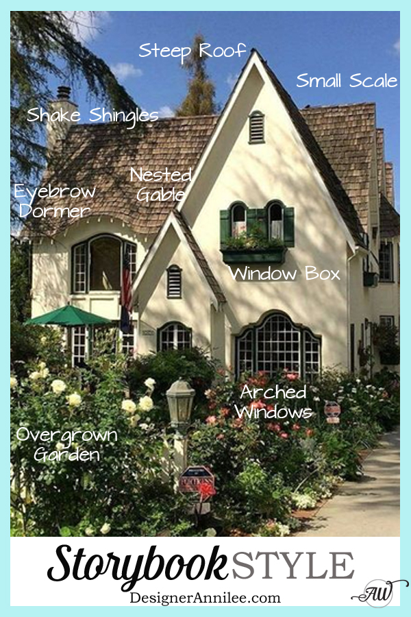 Storybook Style House - Your style guide to all things Storybook style homes. Everything you need to know about Fairytale & Storybook architecture, interiors & decor. - DesignerAnnilee.com