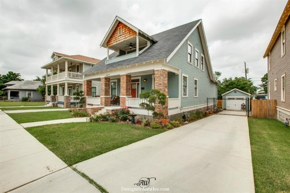 Craftsman Style Homes Aw Design Studio Dallas Designer