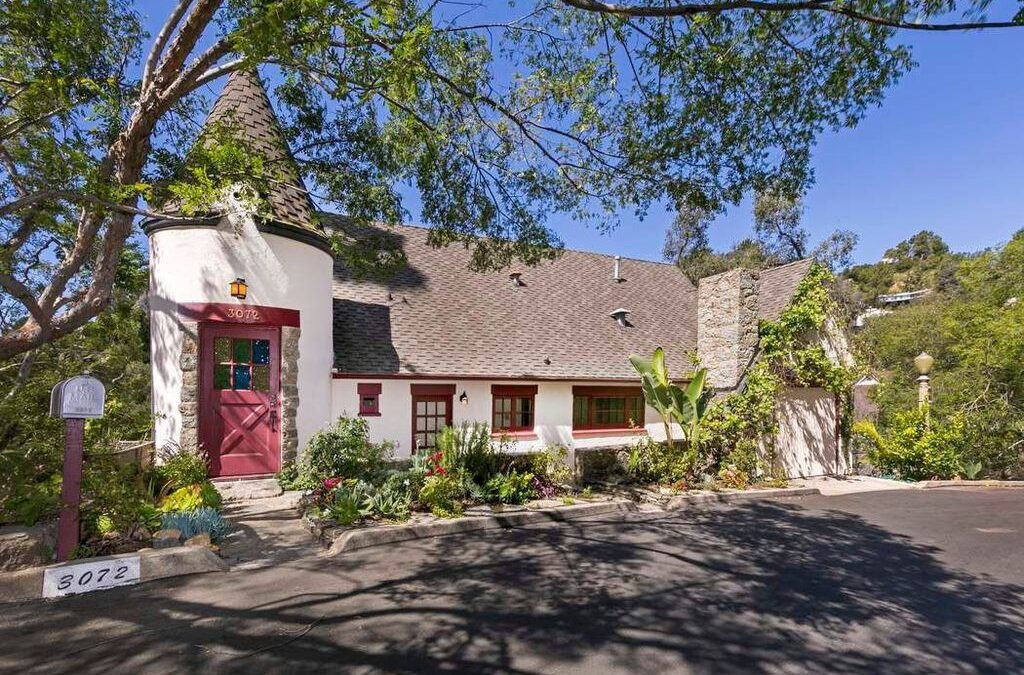 Original Hollywoodland Storybook House for Sale