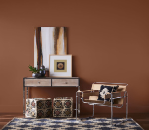 2019 Color of the Year Sherwin Williams SW 7701 Cavern Clay