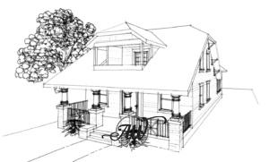 Craftsman Style New Home Design