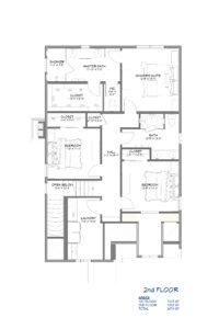 Storybook Cottage Home Plan Second Floor