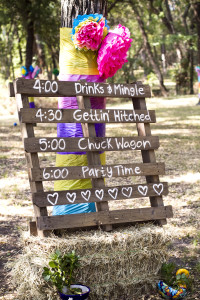 DIY Hand painted pallet sign. So easy & Free! Country Wedding Decor by ABRIDstudio.com