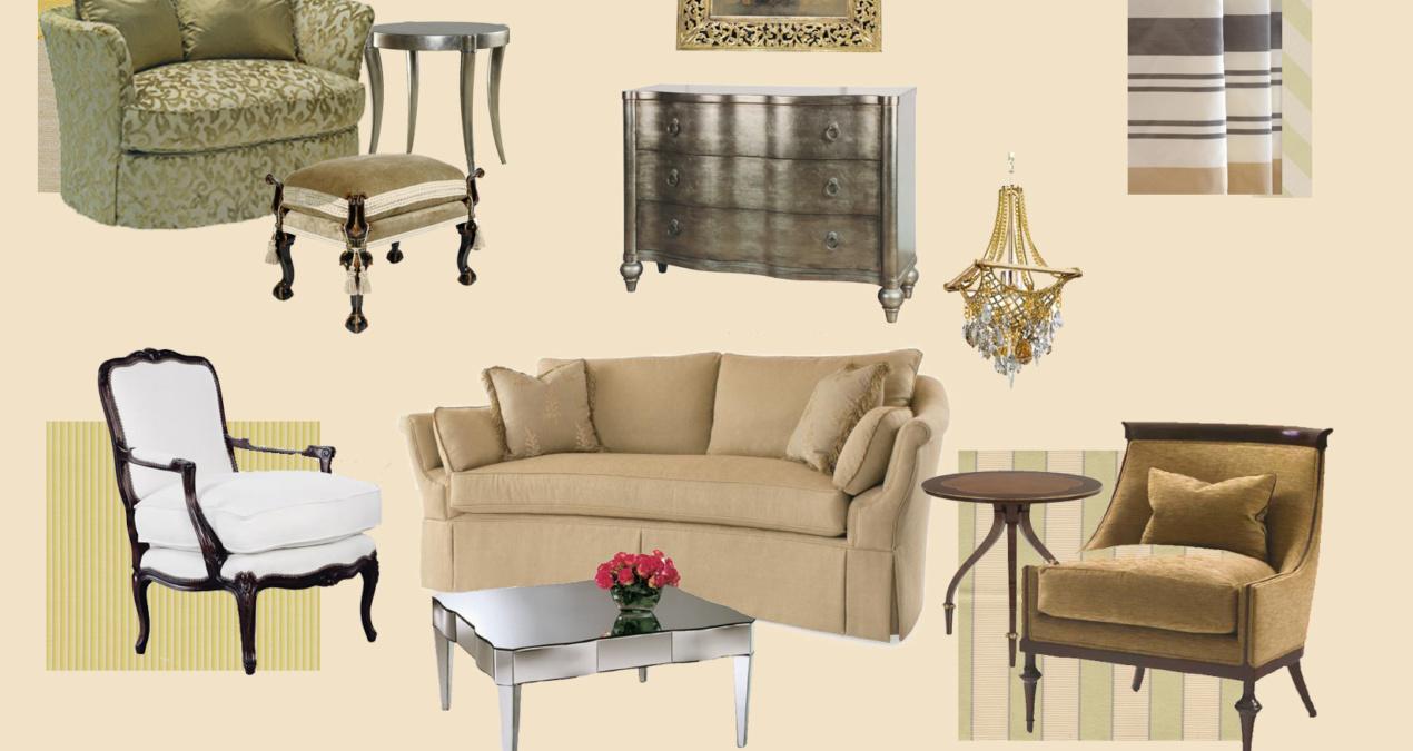 Bahrain Formal Living Room E-Design