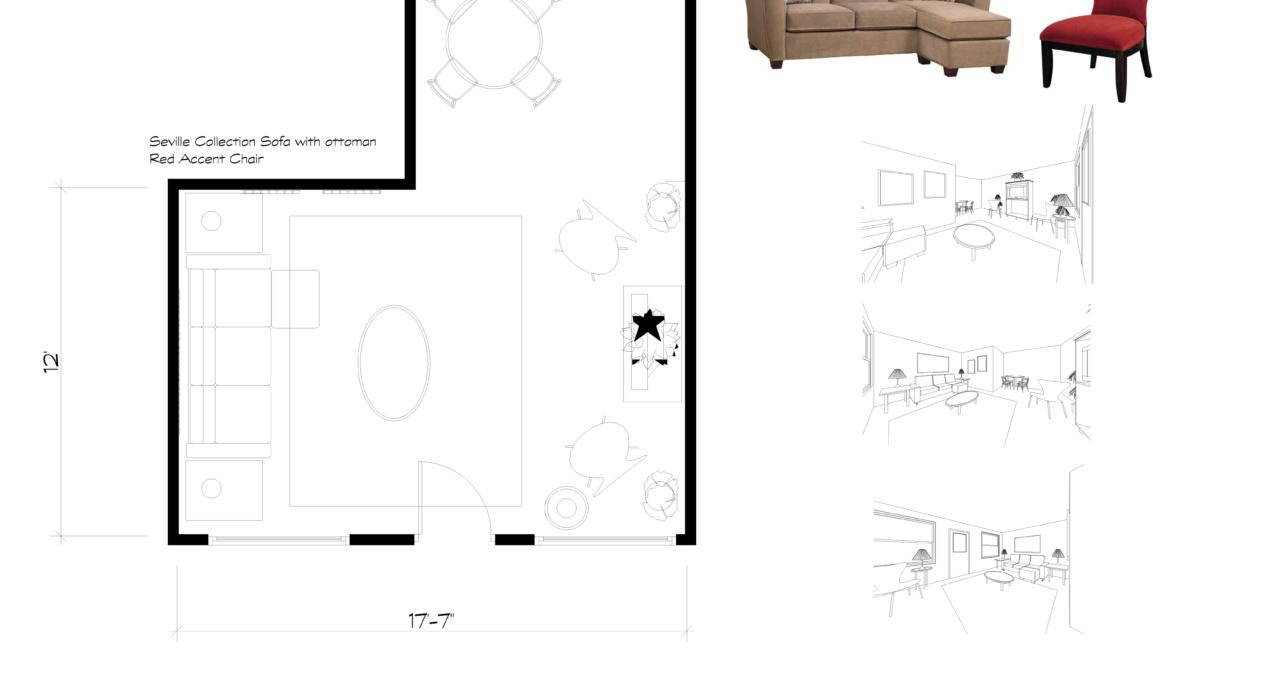 Canadian Living Room E-Design