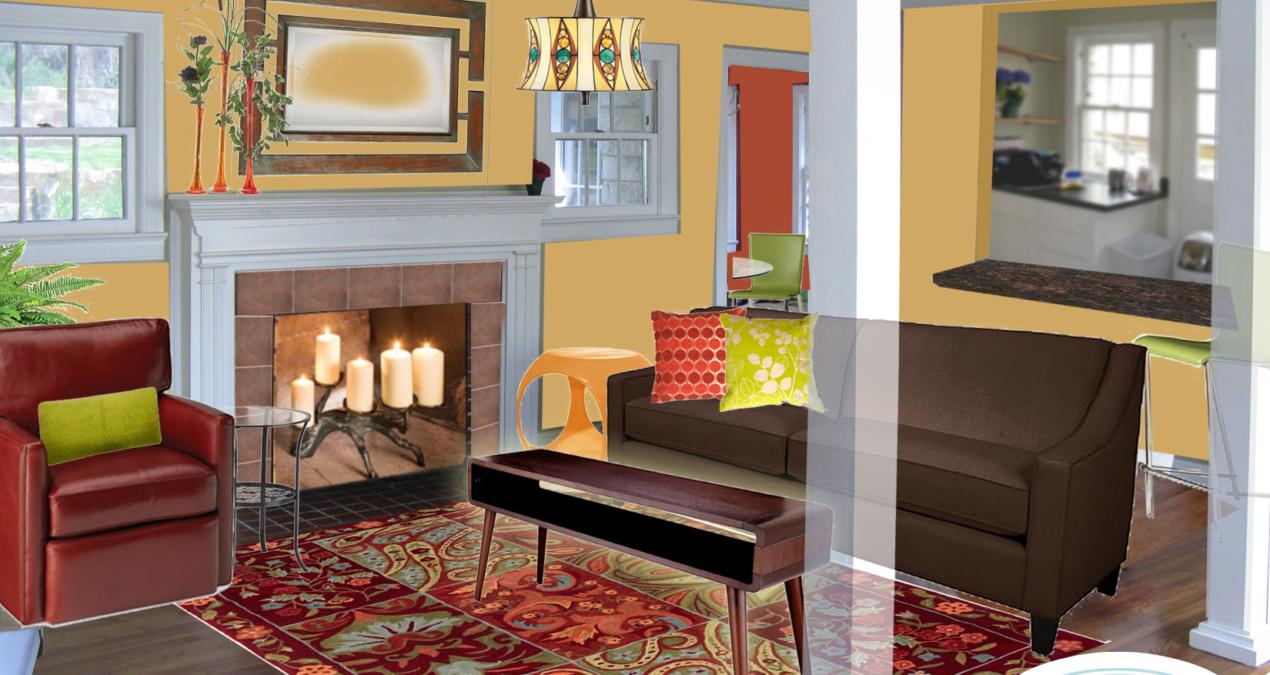 Fabi's Living Room E-Design