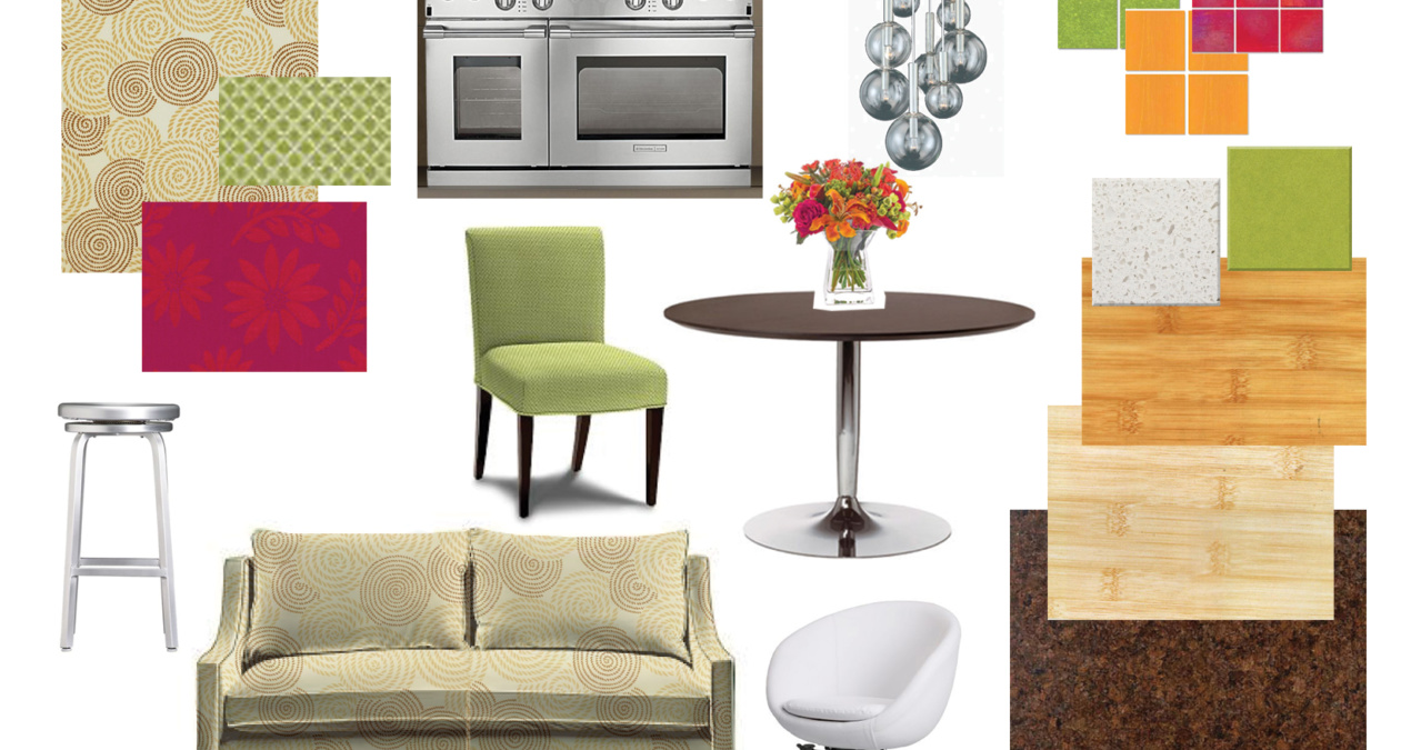 Colorful Modern Kitchen Design