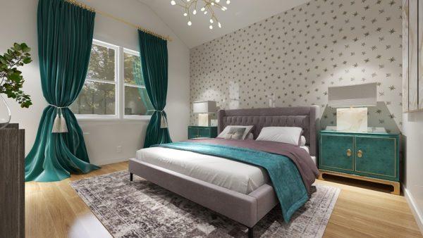 Bedroom Interior Design Rendering