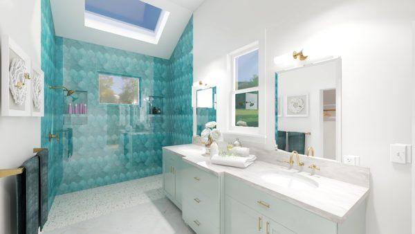Bathroom Interior Design Rendering