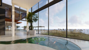 Seasonal Living Magazine Virtual Luxury Designer Showhouse Rendering
